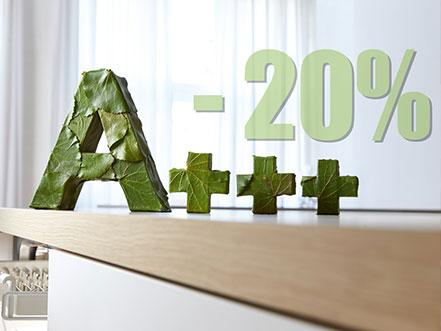 A+++ -20%
